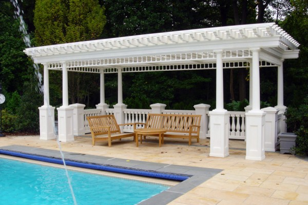 Landscape Architect-Pergola Gazebos Bergen County NJ