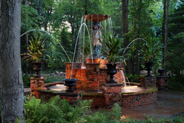 Landscape Architects-Fountain-Bergen County NJ