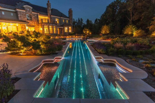 Landscape Architecture -Swimming Pool-Bergen County NJ