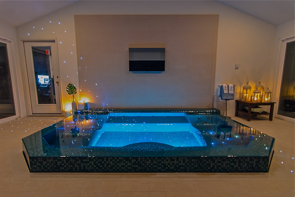 Landscape architecture firm bergen county nj for Custom indoor pools