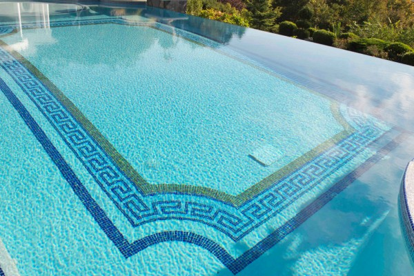 Landscape architecture firm bergen county nj for Pool tile designs