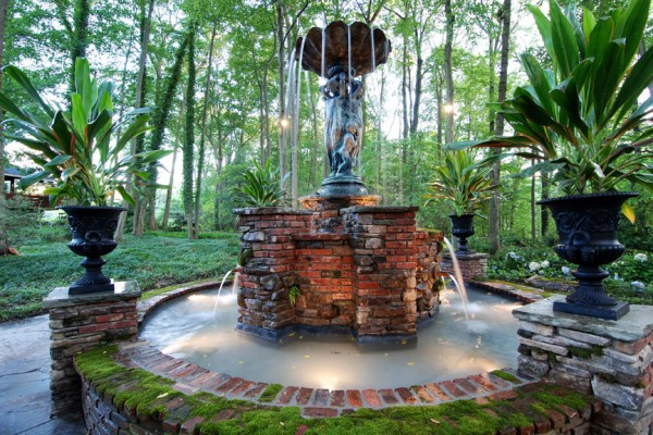 custom garden fountain Cipriano farms 600x400 Landscaping Plants & Nursery  Specimen Trees & Plants