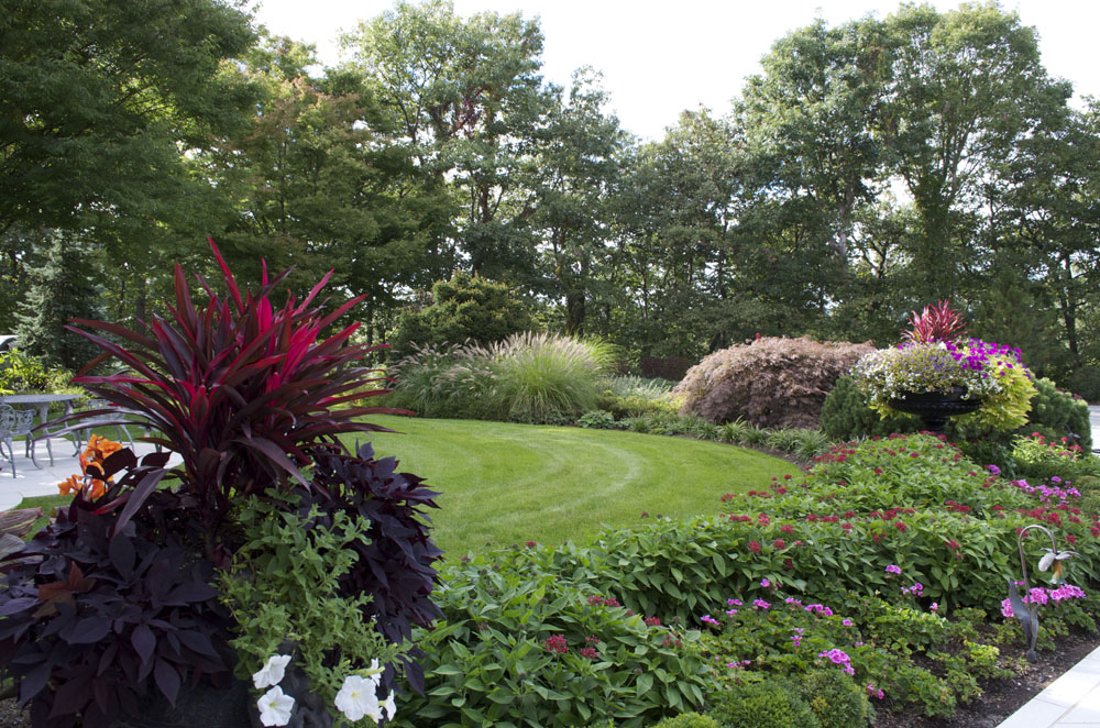 Garden Front Yard Landscape Trees NJ Farm 600x397 Garden Front Yard  Landscape Trees NJ Farm