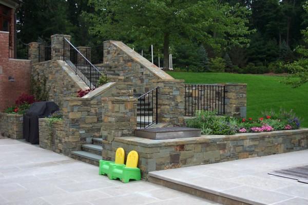 Bluestone Patio landscaping NJ Company 600x400 Pool & Landscaping Testimonials