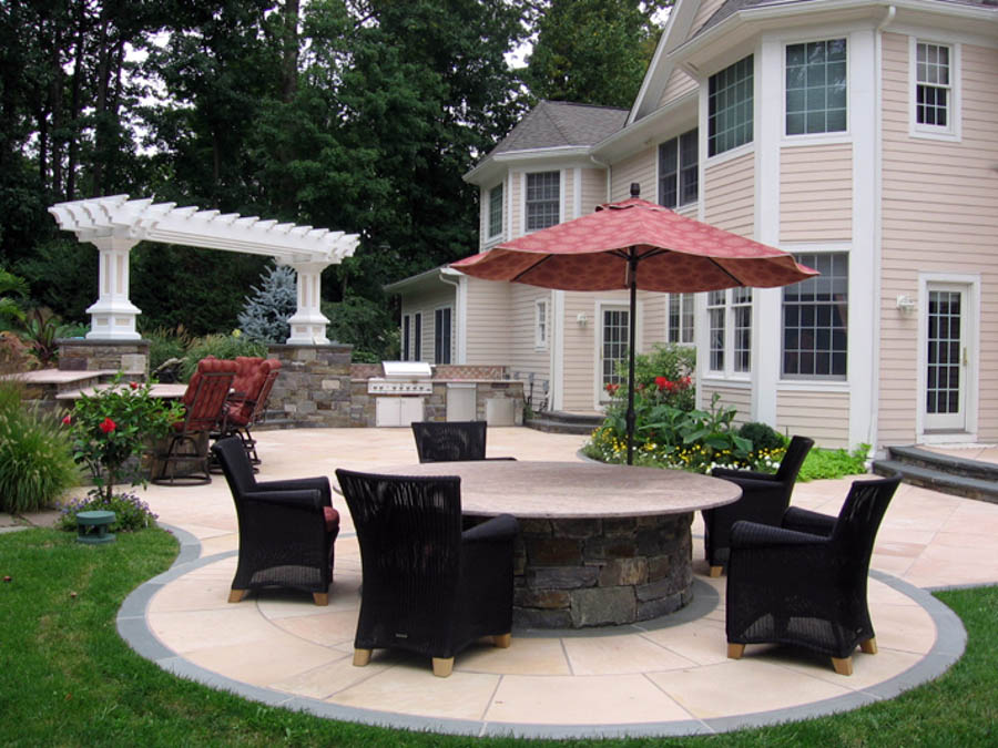Custom pergolas gazebo luxury outdoor garden structures nj for Luxury outdoor living