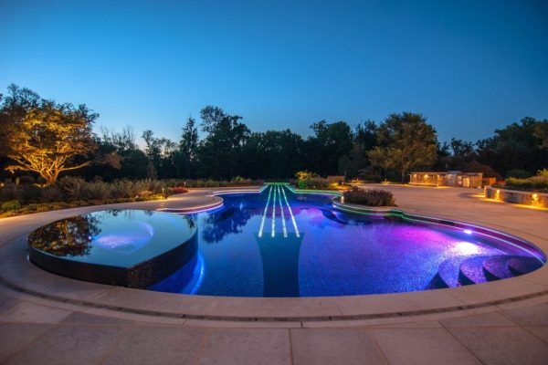 Westchester ny glass tile pool spa 2016 best custom for Best pool designs 2016