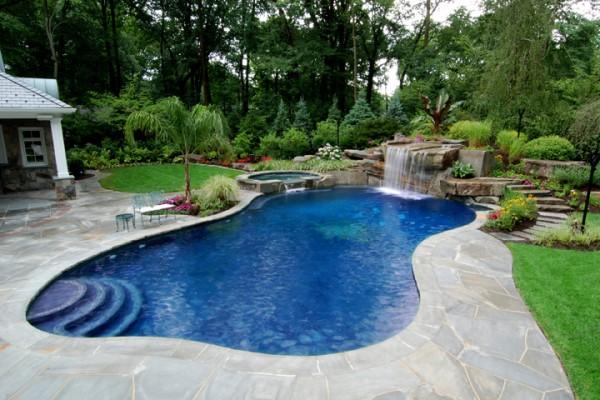 allendale nj swimming pool renovation 600x400 Custom Swimming Pool Renovations