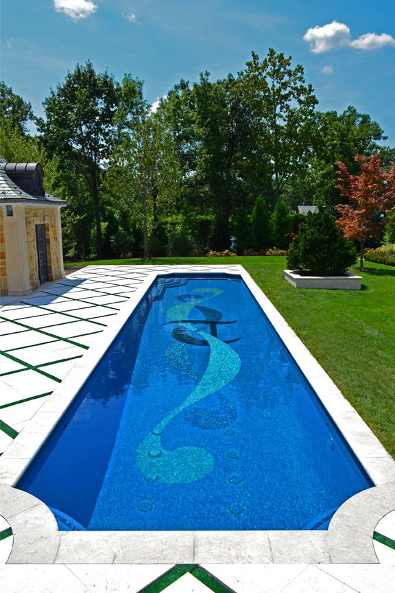 Award winning pool landscaping 2013 best design winner for Custom swimming pool designs