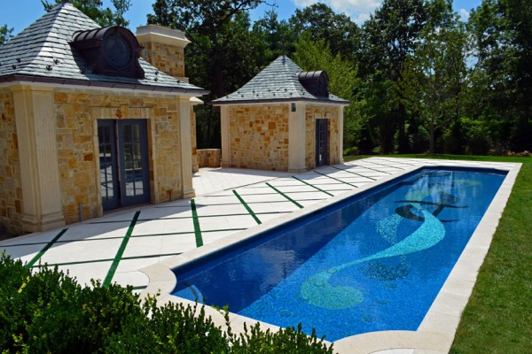 alpine nj award winning mosaic tile pool 600x400 Award Winning Pools & Landscaping