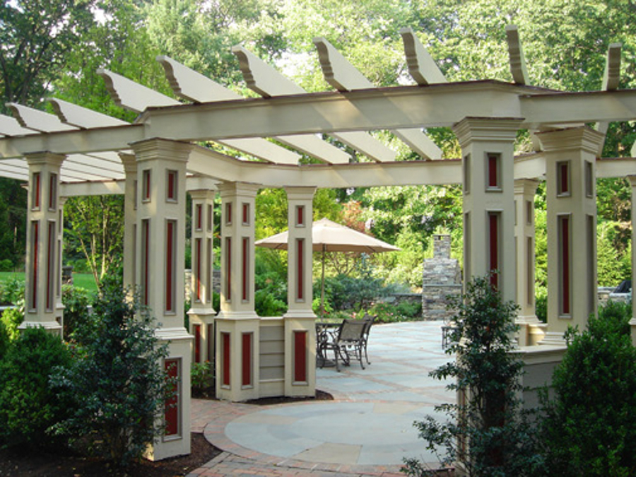 custom pergolas gazebo luxury outdoor garden structures nj. Black Bedroom Furniture Sets. Home Design Ideas