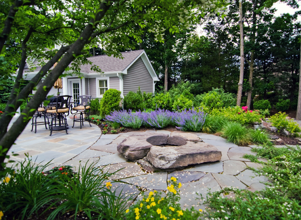 Beautiful landscaping gardens cipriano landscape design nj Best plants for swimming pool landscaping