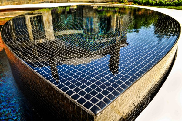 bedford ny award winning glass tile spa design 600x400 Award Winning Pools & Landscaping