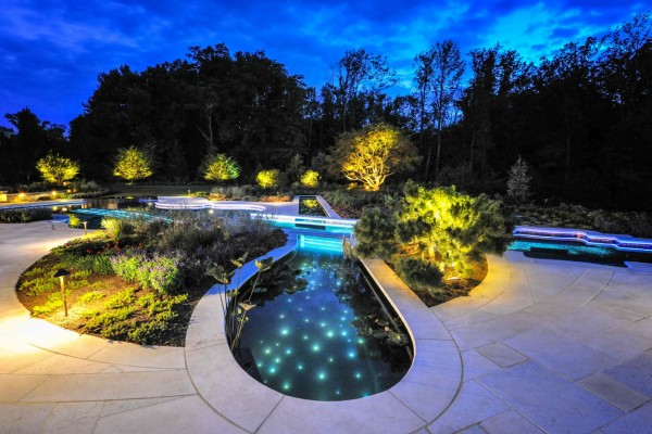 bedford ny award winning pond pool design 600x400 Award Winning Pools & Landscaping