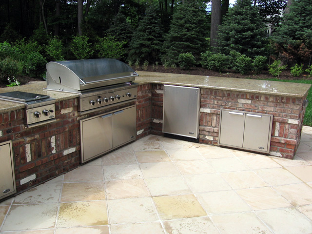 What You Are Reading Now Could Be A Picture Outdoor Brick Kitchen Designs  Talentneeds Com
