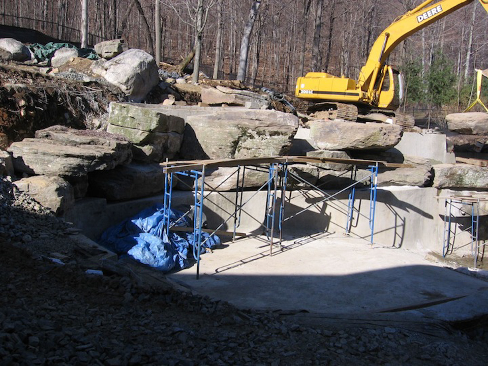 Top landscape construction contractor award bergen county nj for Pool design hamilton nj