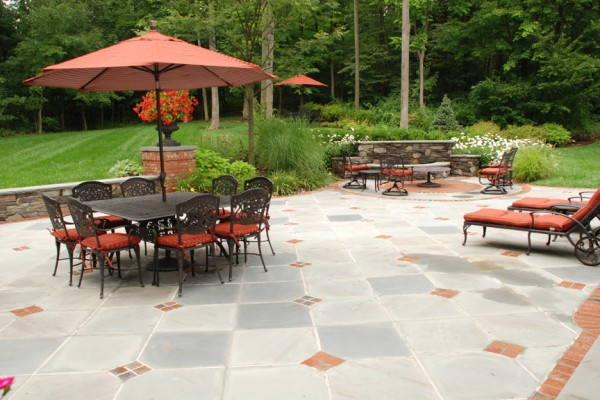 custom natural stone patio landscaping company 600x400 Pool & Landscaping Testimonials