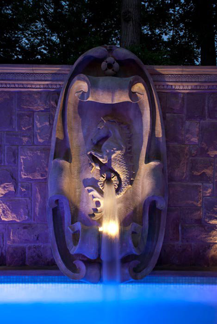 custom sculptures Landscape Lighting