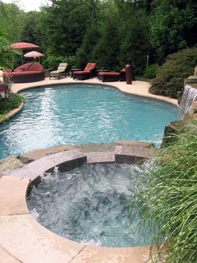 Luxury swimming pools by 2x best design winner nj - Luxury swimming pools ...