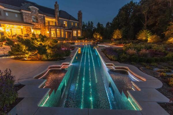 fiber optic lights inground pool builder 600x400 Pool Design