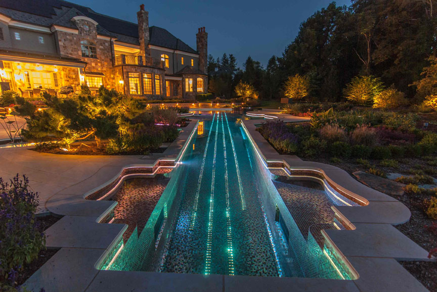 2014 The National Landscape Award Of Excellence *Grand Award* From The  Professional Landscape Network (PLANET). Custom Inground Dipping Pool Design  ...