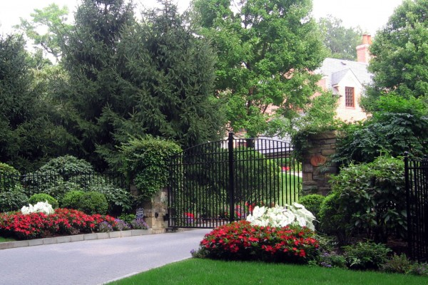 front entry landscaping planting nj company 600x400 Pool & Landscaping Testimonials