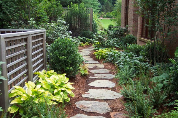 garden pathway landscaping design 600x400 Landscaping & Gardens