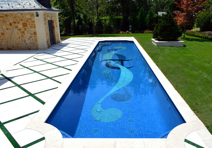 2013 best pool design award indoor outdoor swimming pool for Custom inground swimming pools
