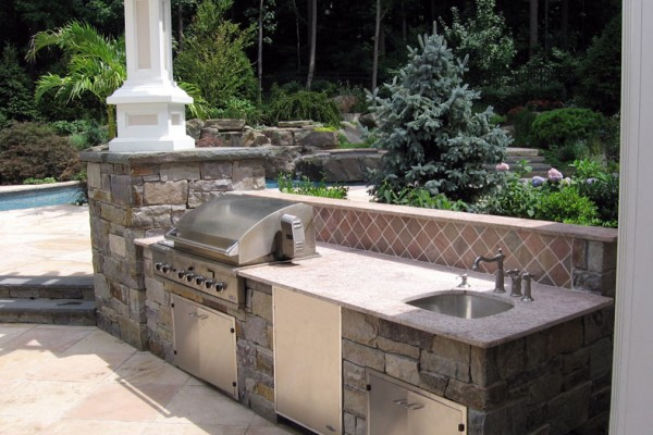 Outdoor Kitchen & BBQ Design & Installation Bergen County NJ