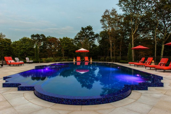 2013 best pool design award indoor outdoor swimming pool for Pool edges design