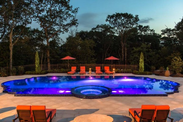 kinnelon nj award winning glass tile perimeter pool 1 600x400 Award Winning Pools & Landscaping