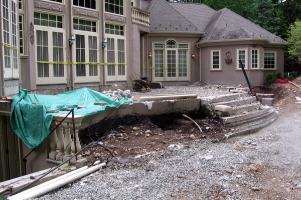 landscape construction NJ saddle river 600x400 Landscape Construction
