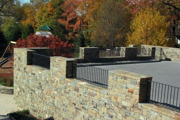 large custom retaining wall design testimonial 600x400 Pool & Landscaping Testimonials