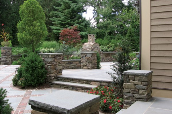 natural stone masonry piers contractor 600x400 Natural Stone Mason Contractor