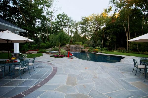 nj custom backyard tropical swimming pool 600x400 Pool & Landscaping Testimonials