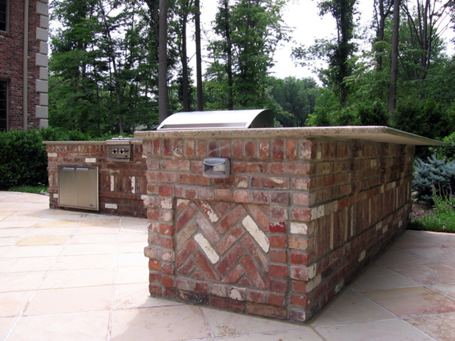 Charmant Outdoor Stone Kitchens