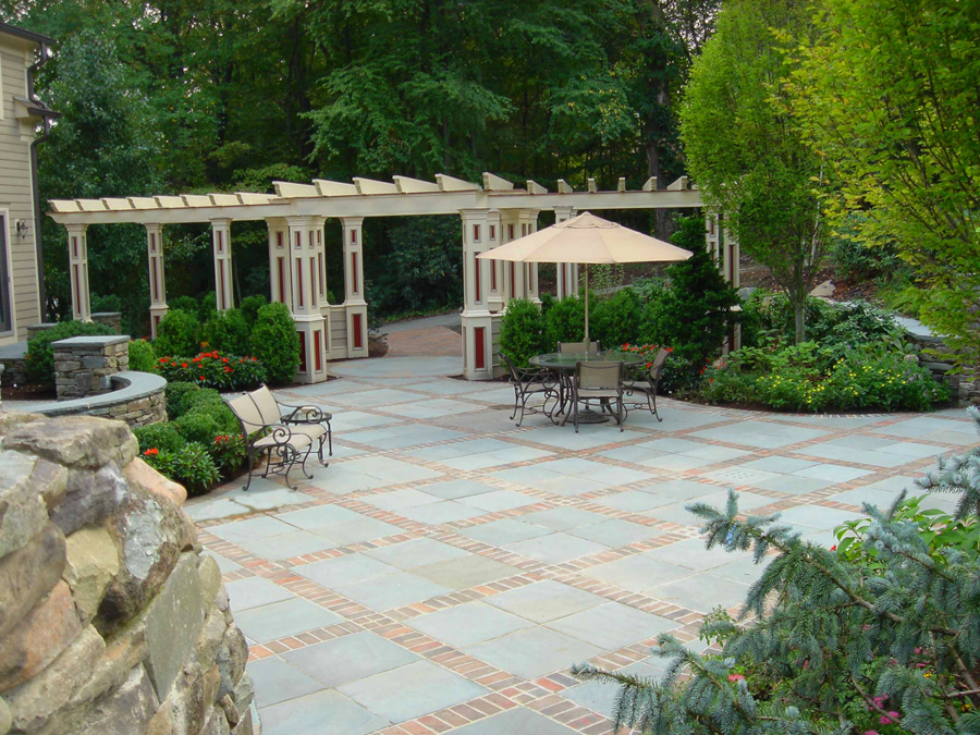 Cabana pergola gazebo design nj landscape architecture for Custom backyard designs