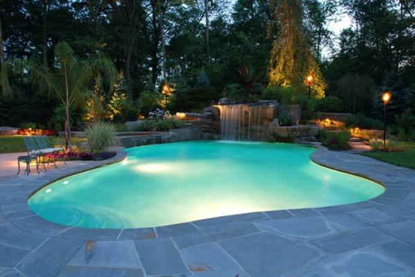 pool design tropical tiki torches testimonial 600x400 Pool & Landscaping Testimonials