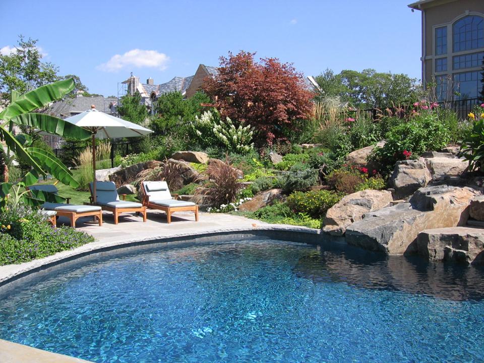 Nj planting design ideas for formal natural landscapes for Pool design inc bordentown nj