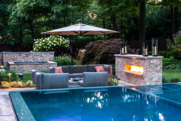 saddle river nj award winning modern inground swimming pool design 600x400 Award Winning Pools & Landscaping