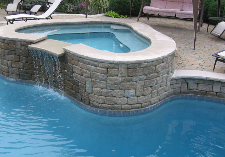 Swimming pool spa renovations nj builder for Pool tile designs