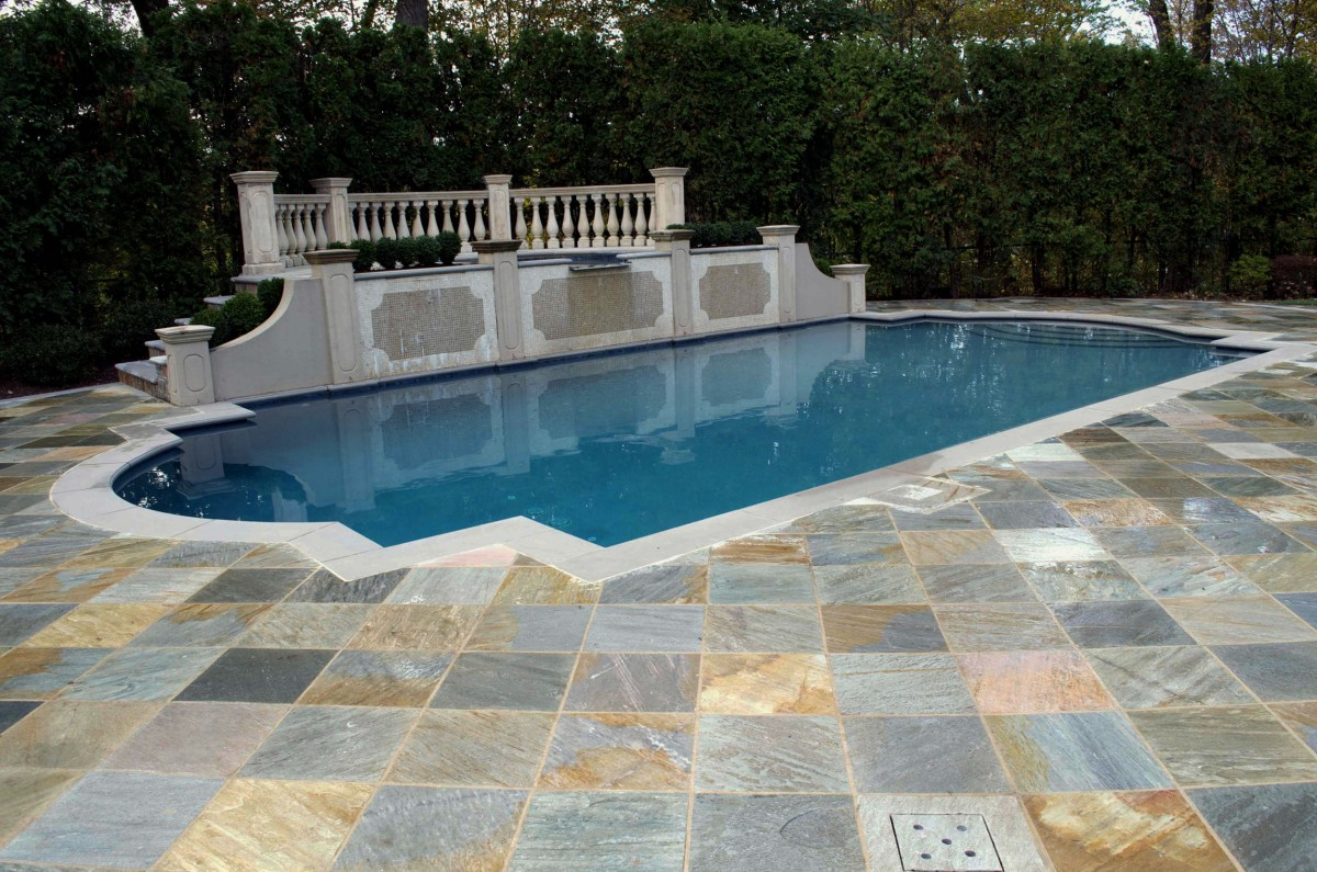 Backyard patio ideas flagstone - Pool Amp Landscaping Testimonials Cipriano Landscape Design