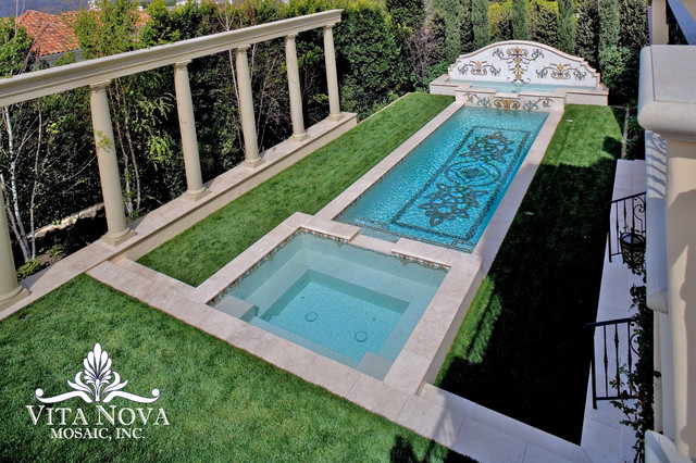 01394709873nova pool SWIMMING POOLS NEW FOR 2014 MOSAIC TILE DESIGNS BY VITA NOVA