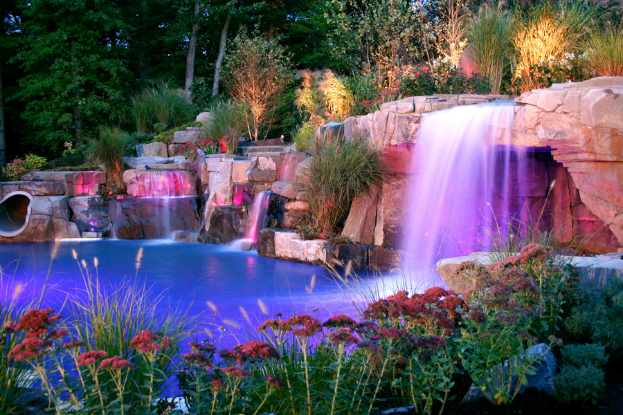 Custom Inground Pool Designs landscape design archives | cipriano landscape design and custom