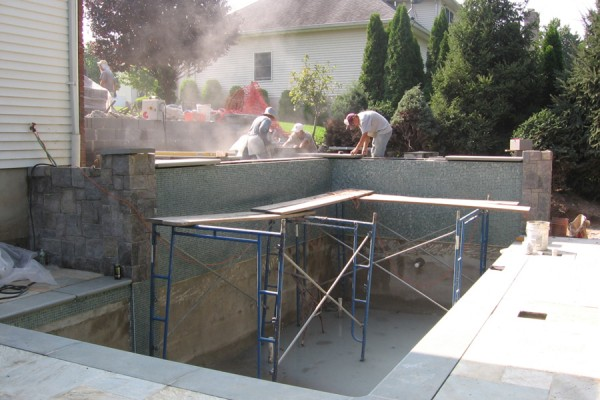 Glass-tile-inground pool-builders-construction