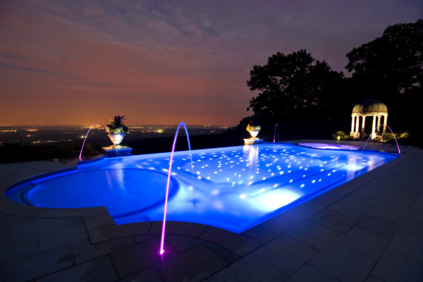 Kinnelon-NJ-Fiber-Optic-Negative-Edge-Pool-Ciasulli-NIght-Pool-View