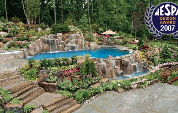 best pool design winner 600x382 Award Winning Pools & Landscaping