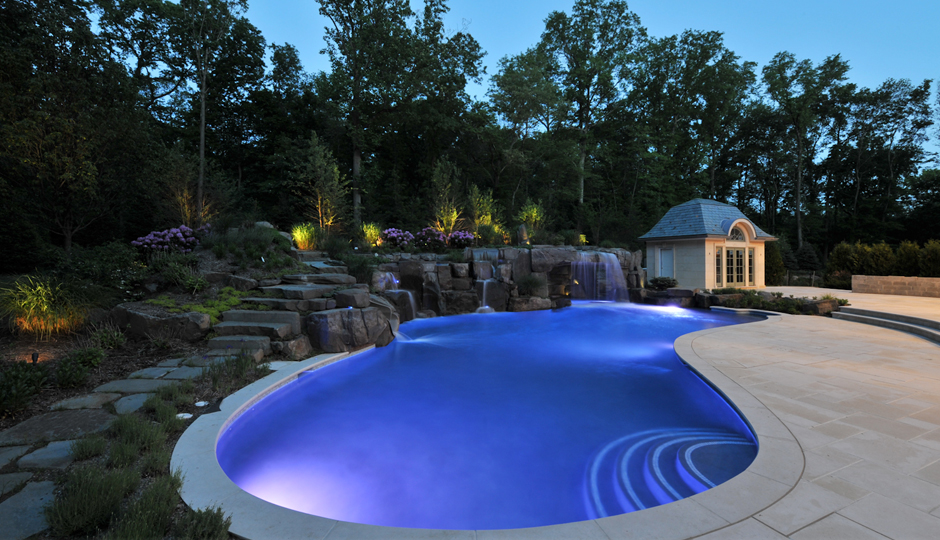 Inground pool construction expert nj builders for Custom inground swimming pools
