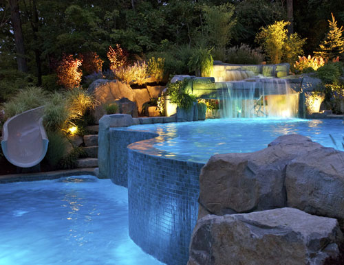 glass tile pool Projects