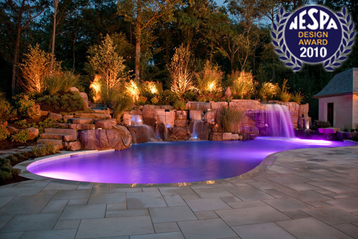 Award winning pool landscaping 2013 best design winner for Best pool design 2015