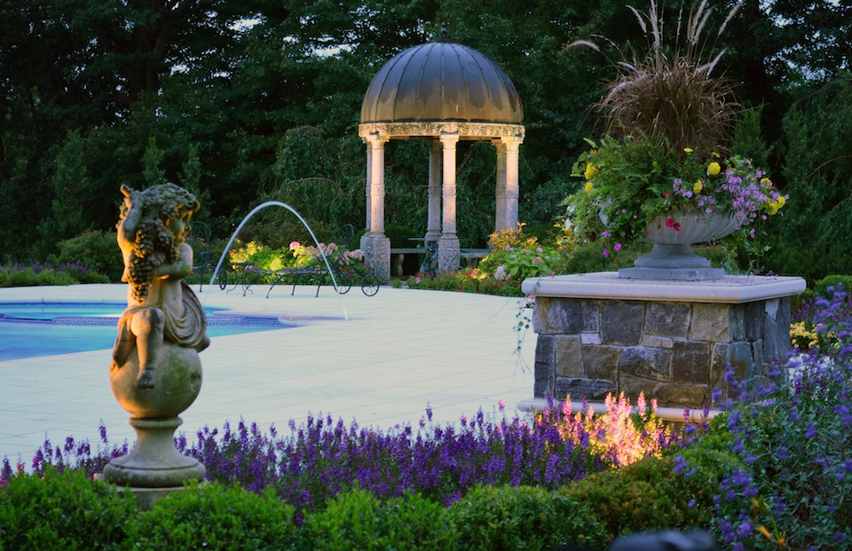 kinnelon nj Tuscan landscape design negative edge swimming pool Landscaping Plants & Nursery  Specimen Trees & Plants